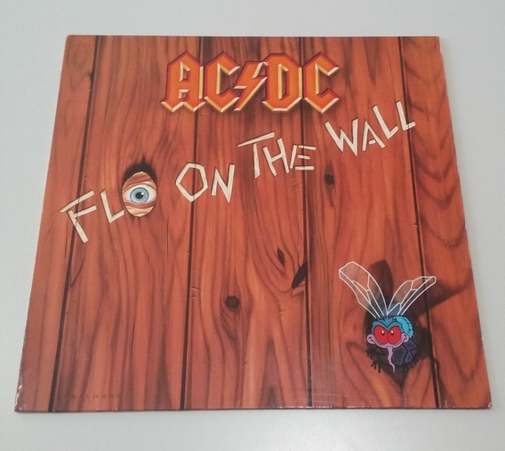 Ac/dc Fly On The Wall - Vinilo 1985 Como Nuevo