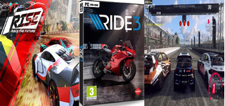 Combo Dirt Rally 2.0, Rise Race The Future, Ride 3 Pc