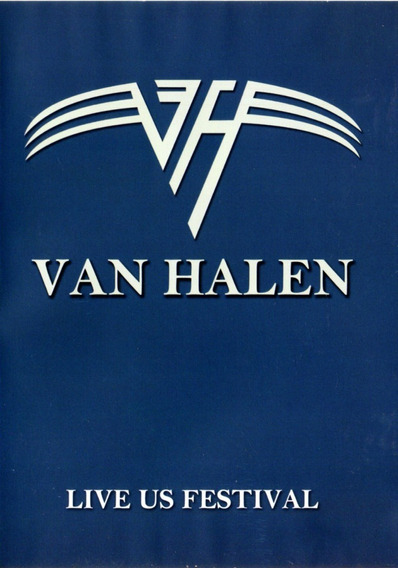 Van Halen Live Us Festival - Dvd Original