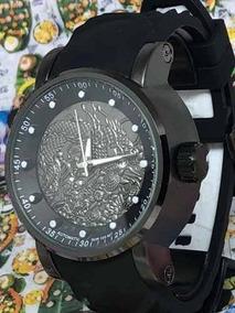 Combo Kit 2 Relógios Masculino Dragon +caixa Personalizada