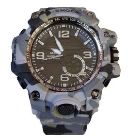 Relógio Masculino G-shock Camuflado Prova D