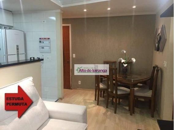 Apartamento Com 2 Dormitórios À Venda, 46 M² - Parque Bristol - São Paulo/sp. - Ap4360