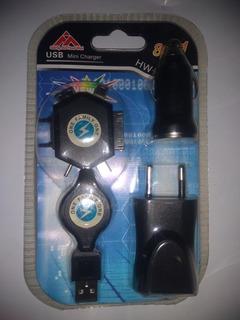 Carregador Universal E Veicular 8 Em 1 Ótima Qualidade
