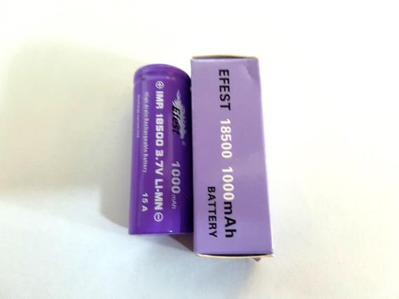 Bateria Efest 18500 1000mah 15 Amp - Original