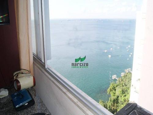 Imagem 1 de 18 de Apartamento Com 3 Dormitórios À Venda, 99 M² Por R$ 500.000,00 - Vitória - Salvador/ba - Ap0443