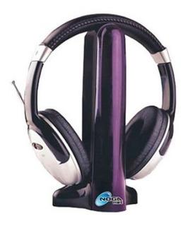 Auricular Hi-fi Dual Inalambrico Y Cableado C/microfono