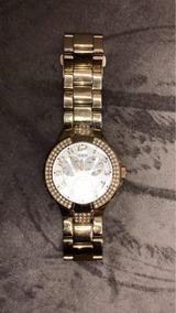 Relógio Guess Dourado Lindo