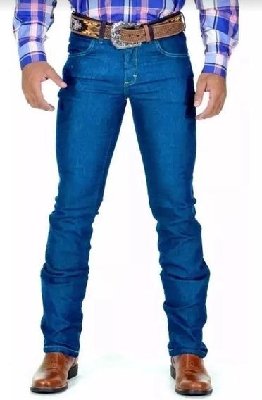 Calça Jeans Masculina Moda Country Lycra Em Promoção Avant