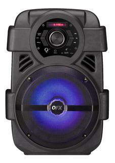 Parlante Portátil Potente! Bluetooth - Radio Fm - Luces Led