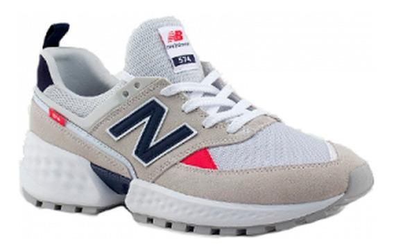 Tenis New Balance 574 Sport V2 - Bege - 12x Sem Juros