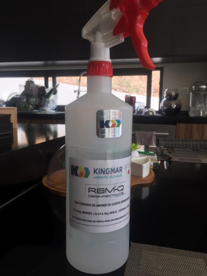 Desinfectante Roseador Altamente Eficas