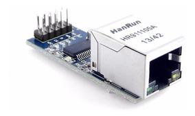 Módulo Ethernet Shield Arduino Enc28j60