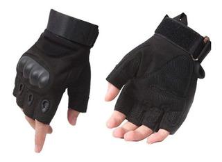 Luvas Meio Dedo Moto Chooper Clássico Pedal Proteção Mtb