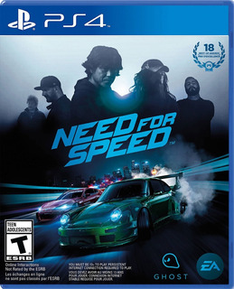 Need For Speed Ps4 Nfs Juego Original Nuevo Físico Sellado