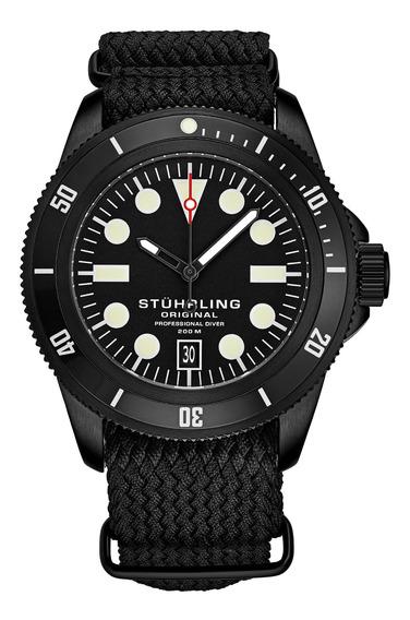 Relógio Masculino Stuhrling - Cobia 966a Quartz 43mm Diver