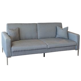 Actual Studio Sofa Cama Matrimonial Tela Gris 3 Posiciones
