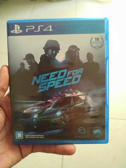 Jogo Ps4 Need For Speed