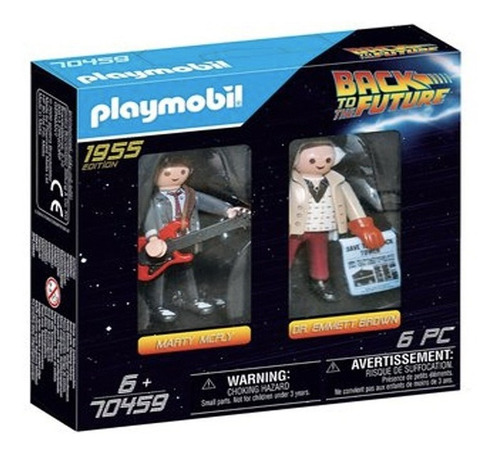 Playmobil Volver Al Futuro Doc Marty