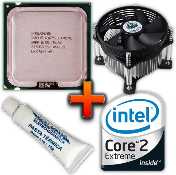 Processador Intel Core 2 Extreme X6800 2.93ghz + Cooler 775