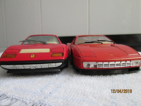 Miniatura Lote 1\24 Burago Ferrari Testarossa Bb 512 Antigas