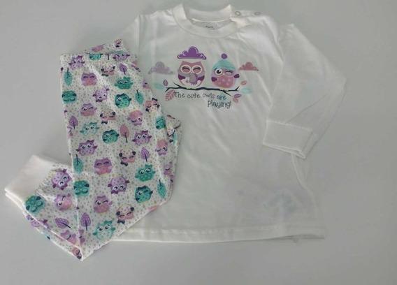 Pijama De Bebê 9-12m Algodão Malwee 12x S/ Juros