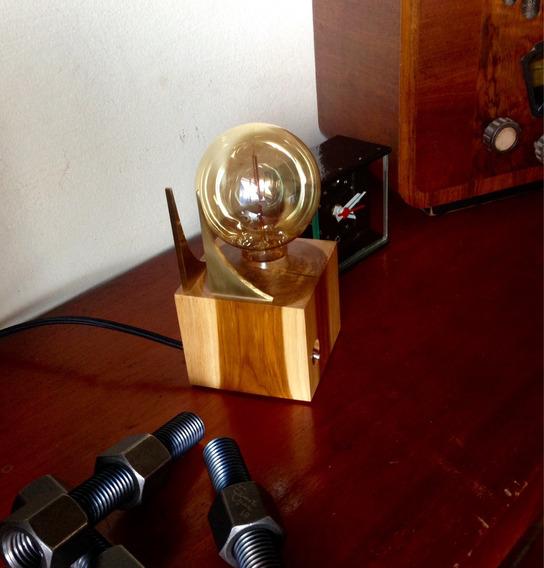 Único Abajur, Luminária Lâmpada Retrô Édison Vintage Bronze