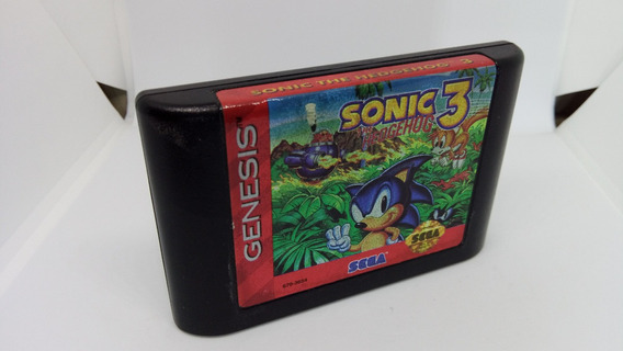 Sonic 3 Original E Salvando Mega Drive Genesis Frete Grátis