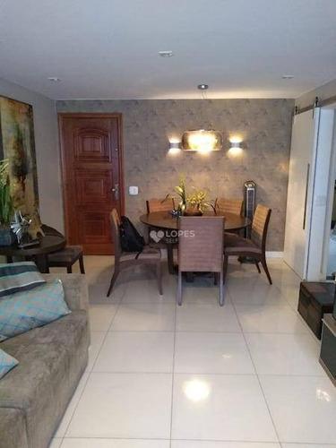 Apartamento Com 3 Dormitórios À Venda, 103 M² Por R$ 590.000,00 - Santa Rosa - Niterói/rj - Ap37823