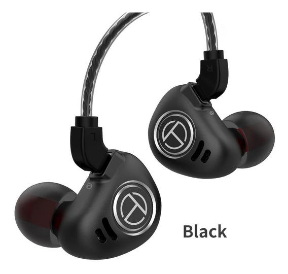 Fone In-ear Trn V90 10 Drivers Retorno De Palco + Brinde