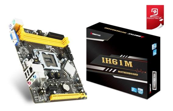 Tarjeta Madre (70vrds) Biostar Ih61m Intel Socket 1155 Vga