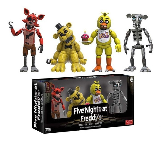 Five Nights At Freddys Foxy Freddy Animatronic Chica Funko