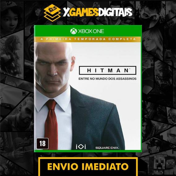 Hitman Xbox One Midia Digital + 1 Jogo Brinde