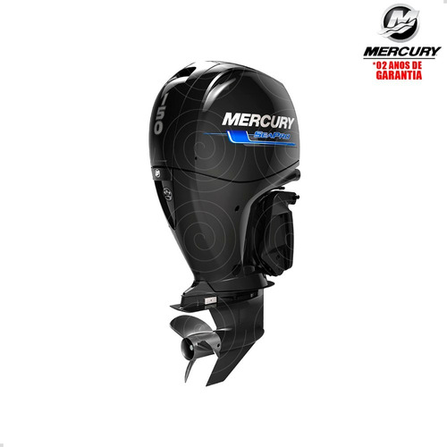 Motor De Popa Mercury 4 Tempos 150hp Xl 3.0l Efi Pess Física