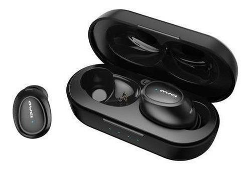 Imagen 1 de 5 de Audífonos Intraurales Awei T6 Bluetooth C/reducción De Ruido