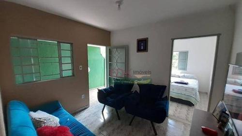 Imagem 1 de 9 de Casa Com 1 Dormitório À Venda Por R$ 155.000,00 - Jardim Boa Vista - São José Dos Campos/sp - Ca4859