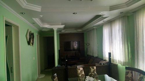Apartamento Com 2 Dormitórios À Venda, 68 M² Por R$ 340.000,00 - Vila Das Bandeiras - Guarulhos/sp - Ap1024