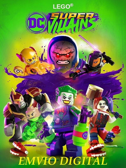 Lego Dc Super-villains+ Brinde Pc Envio Digital