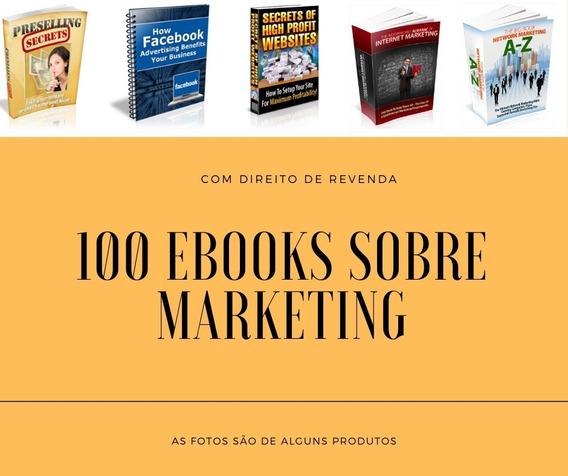 100 E-books Plr Com Direito De Revenda - Marketing