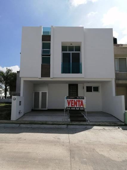 Hurban Vende Casa Nueva 3 Niveles En Coto Al Norponiente, Cerca Del Tec.