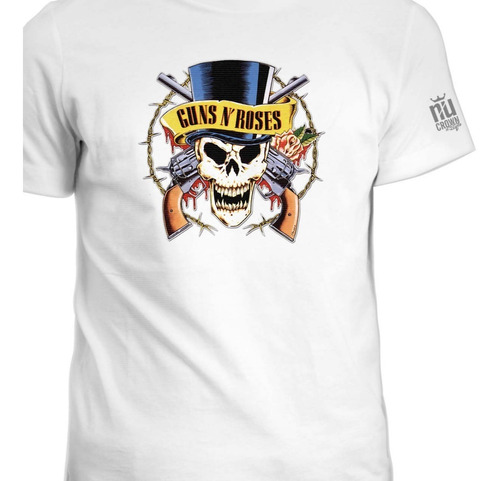 Camisetas Guns N Roses Grupo Hard Rock Punk Calavera  Ink