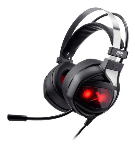 Fone Headset Gamer Usb Microfone 7.1 Com Função Vibração