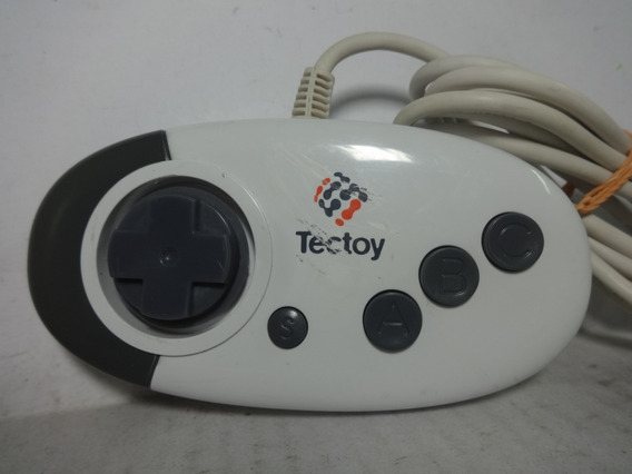 Controle Mega Drive 3 Botões Original Tectoy E