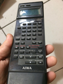 Controle Remoto Aiwa Toca Disco 4x1 Com Visor