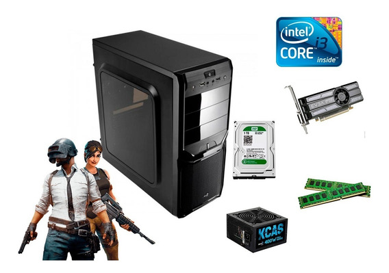Pc Gamer I3 + 6gb + 1tb + Placa De Vídeo Gt 1030 Ddr5