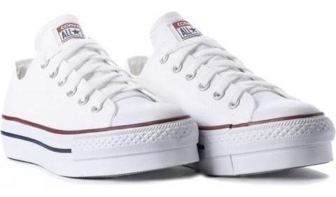 Tênis Converse Chuck Taylor All Star Plataform Branco