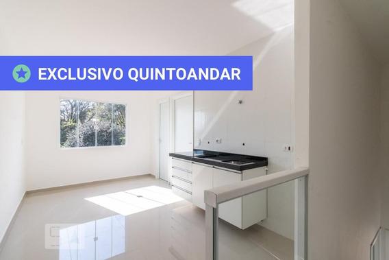 Apartamento No 2º Andar Com 1 Dormitório E 1 Garagem - Id: 892949791 - 249791