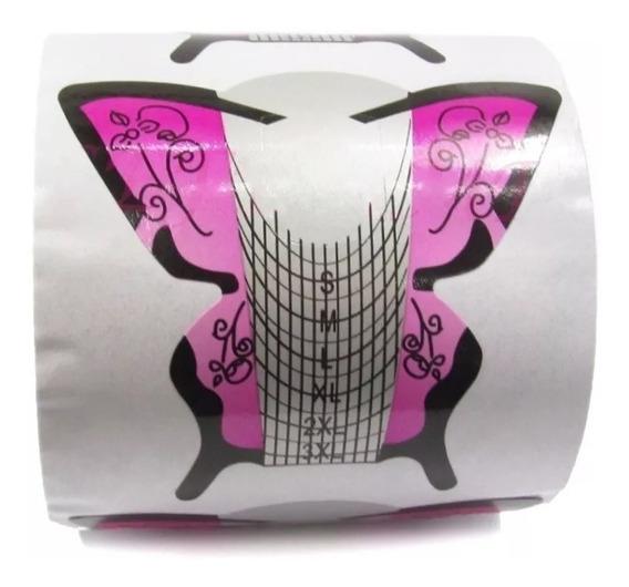 Moldes Mariposa X100 Uñas Esculpidas Stiletto
