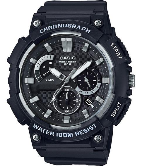 Relógio Casio Mcw200 Masculino Analógico Mcw-200h-1avdf