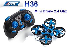 Mini Drone Jjrc H36 Com 3 Baterias Frete Gratis