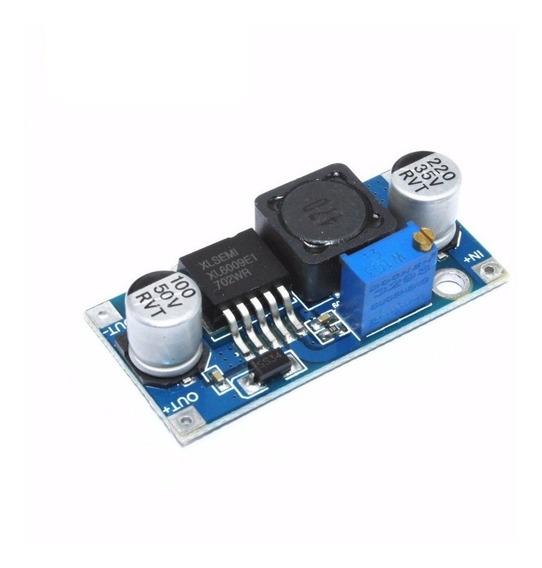Regulador Elevador De Tensão Ajustável Step Up Dc-dc Xl6009